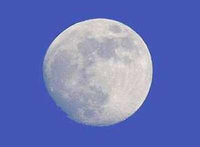 Растущая луна 2 фаза луны